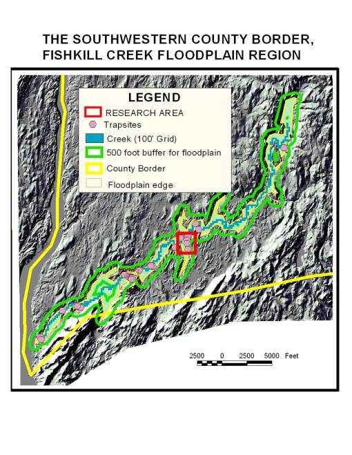 Fishkill Creek Floodplain Research Area