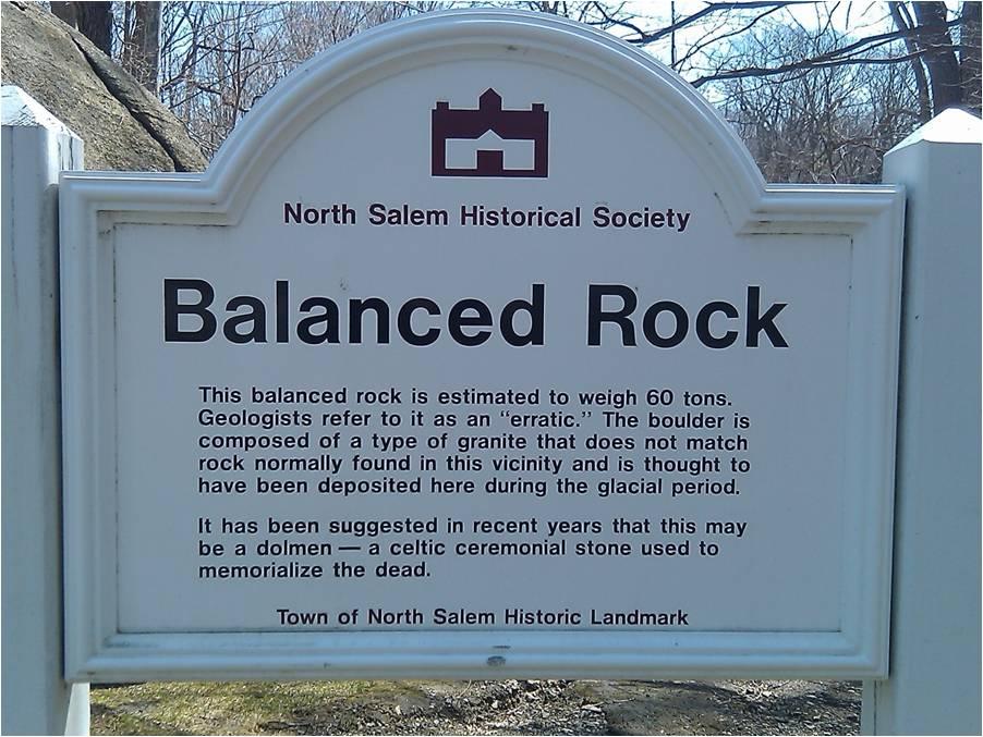 balanced rock  new salem  ny