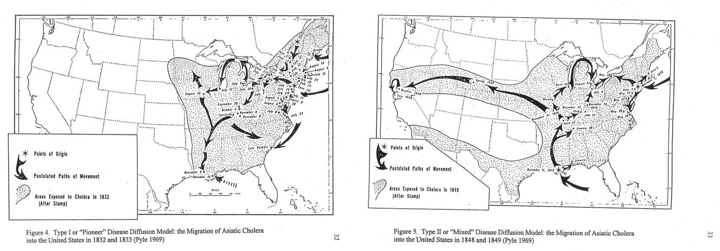 1960 Pyles Disease Diffusion And Migration Patterns Brian