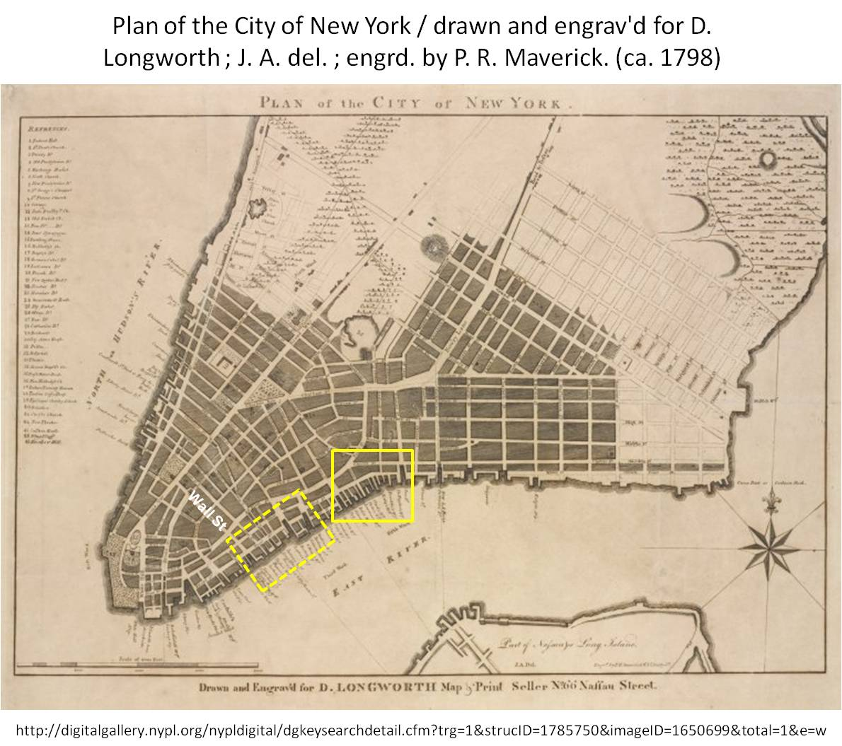 New York Map 1800.Valentine Seaman 1797 1804 The Black Plague Or Yellow Fever Of