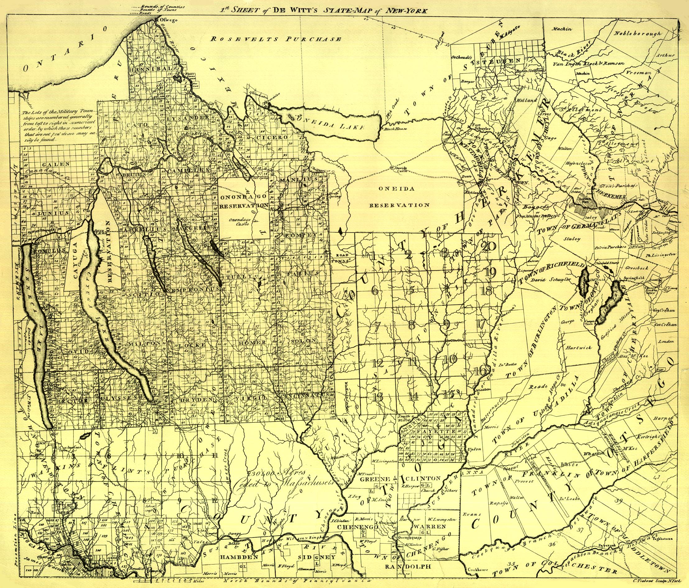 West Seneca Ny Map