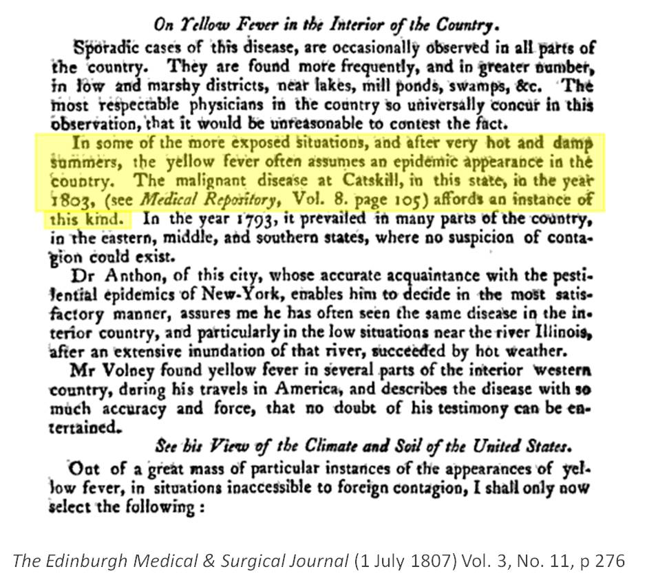 yellow fever outline The vector and virus for yellow fever probably appeared in san juan, puerto rico by 1598  the impact of european diseases on native americans.