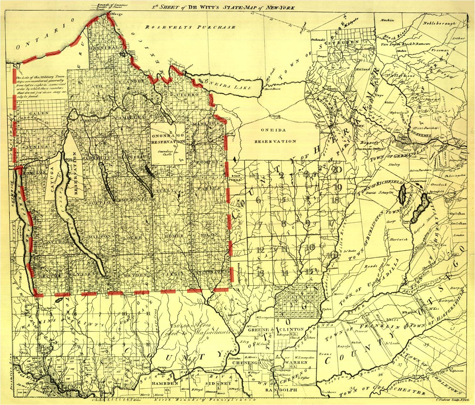 1806  u2013 the military tract of western new