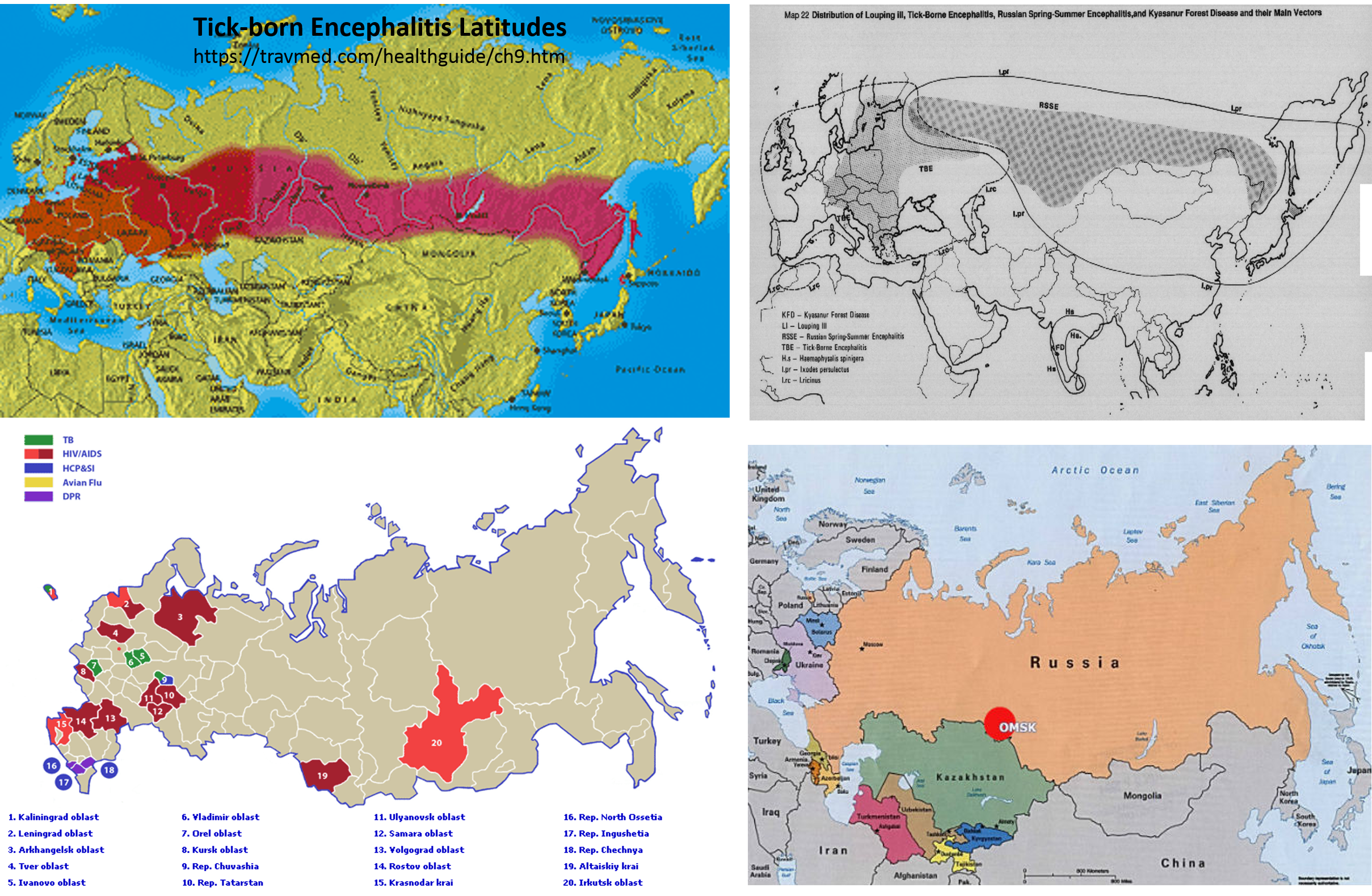 4RussianDisease Zoonosis and Russian Medical Geography