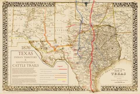 1851 - 1917, Cattle Drives and Texas Fever (6/6)
