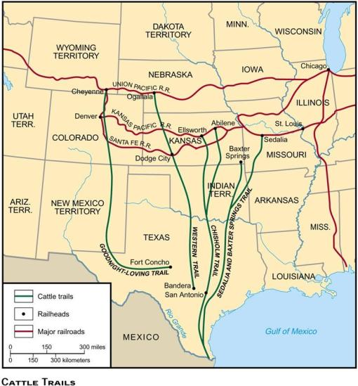 american west cattle industry revision Learn the american west - development of the plains - cattlemen and cowboys, the rise and fall of the cattle industry facts using a simple interactive process.
