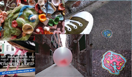 ChewingGum-Art-or-Grafitti
