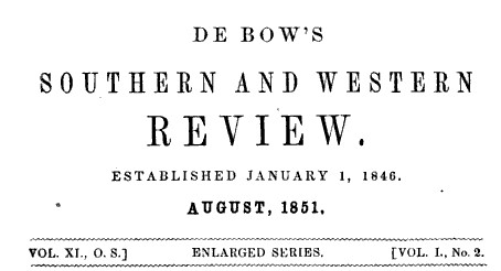 DeBowsTitlePage_Aug1851