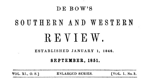 DeBowsTitlePage_Sep1851