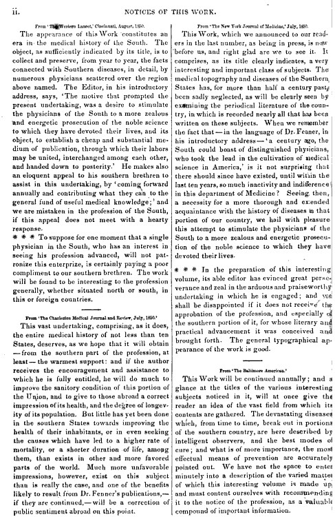SouthernMedicalReports_vol2_1850_ii