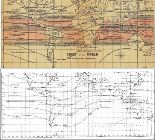 robert lawson u2019s pandemic waves theory and the world isoclines map  u2013 ca  1860