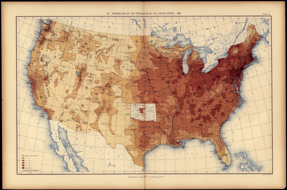 1890 - The 1890 Census Disease Maps (3/6)