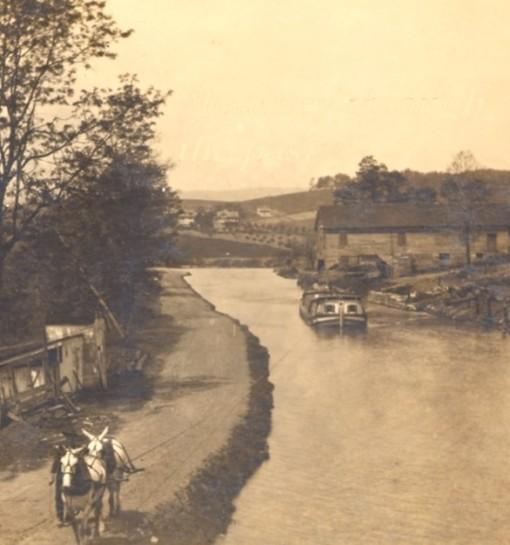 CumberlandMD_CandO-Canal-MulePuller_TeachingAmericanHistory