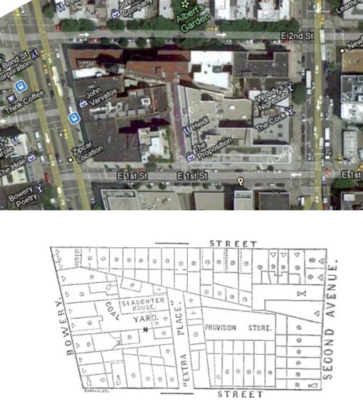 ReportCouncilHygienePublicHealth_13SanitationDistr_160_RobertNewman_bowery-second-ave-1860totoday-compared