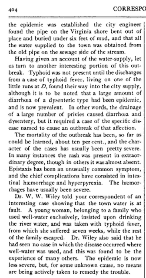 TheTyphoidFeverEpidemicatCumberland_MedicalNews_56-no15_April12,1890_pp403-404c