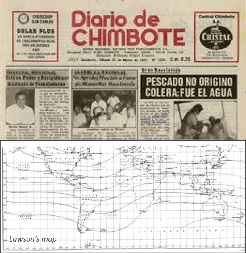 describing the climatic phenomenon of the el nino it prevalence and devastation The influence on oceanography on climate the weather of the galápagos islands is influenced by three main ocean  climate statistics  the el niño phenomenon.